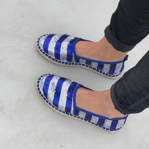 703f611c6eb Sequin Jute Sole Espadrille Loafers